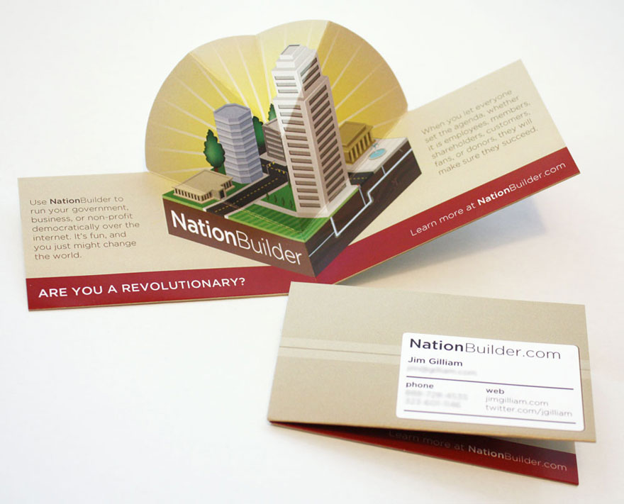business cards | Make Something Mondays!