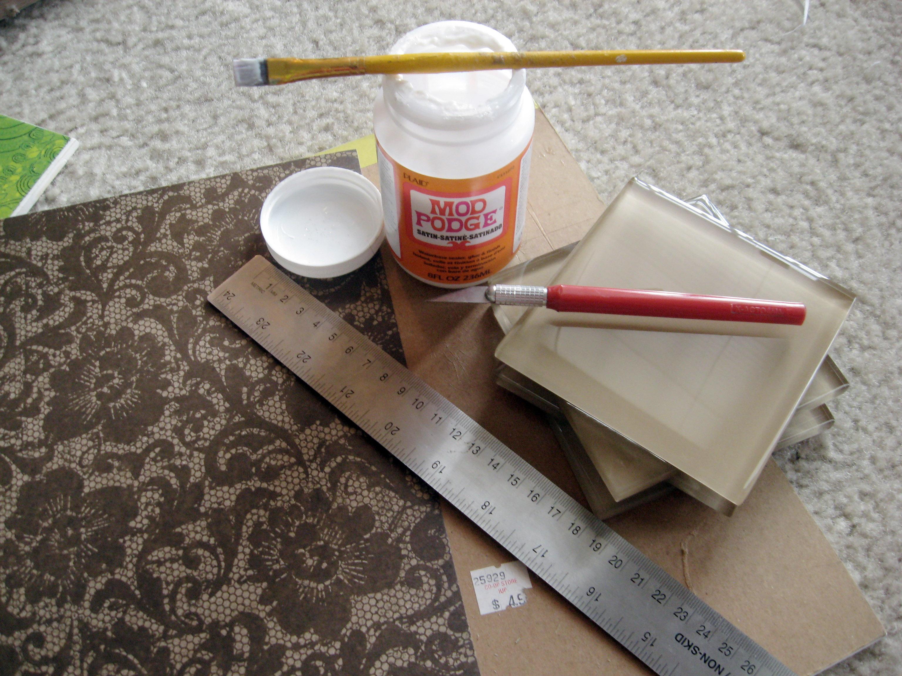 DIY Tile Coasters | Make Something Mondays!