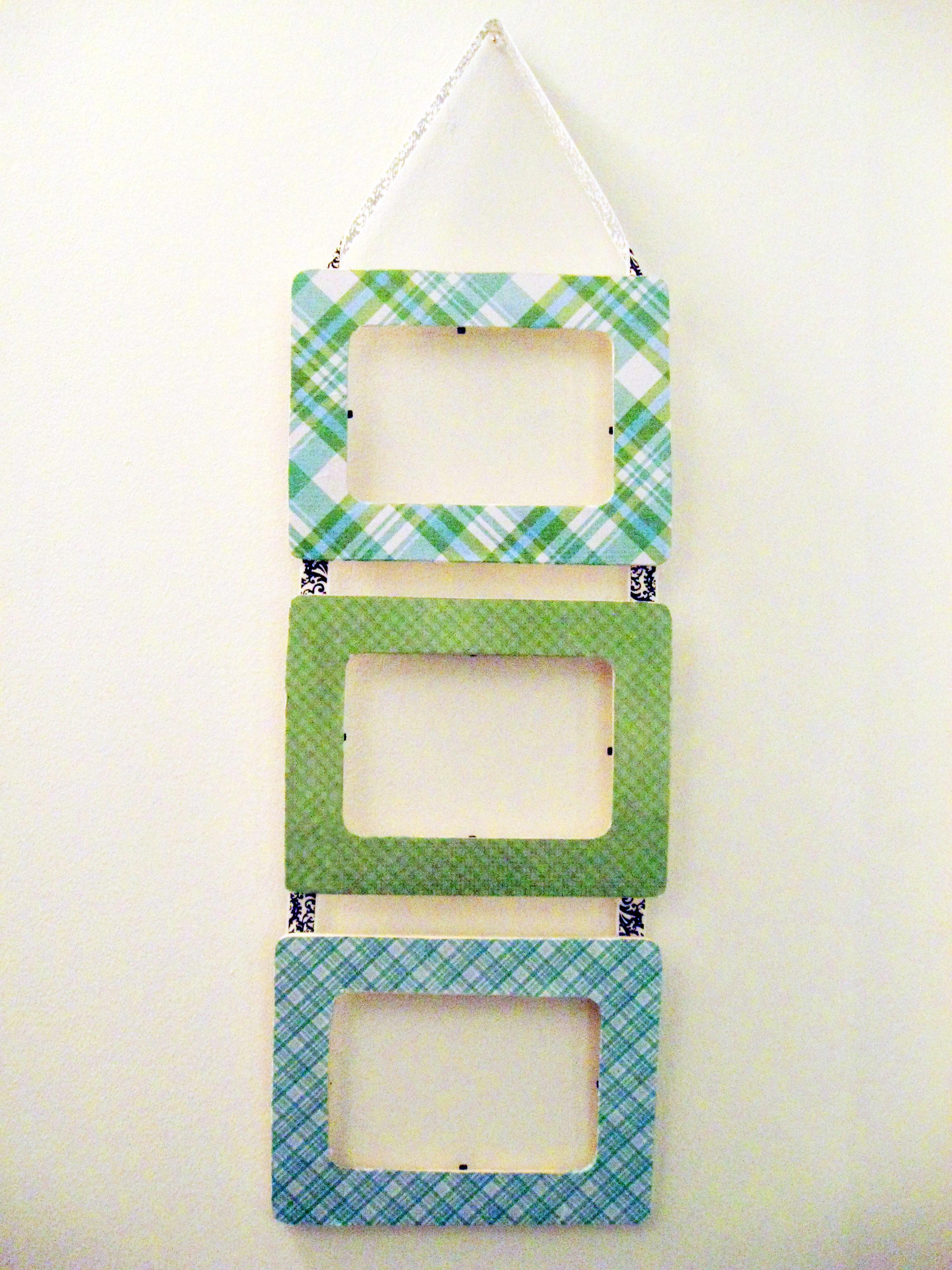 DIY Hanging Frames | Make Something Mondays!