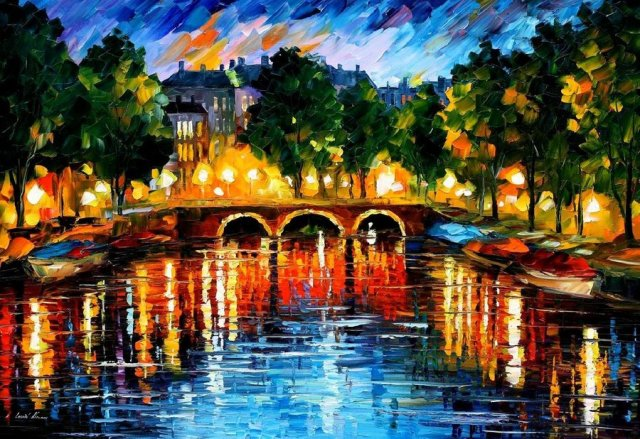 amsterdam___the_release_of_happi___leonid_afremov_by_leonidafremov-d54at8w