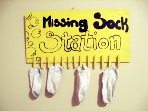 missing socks