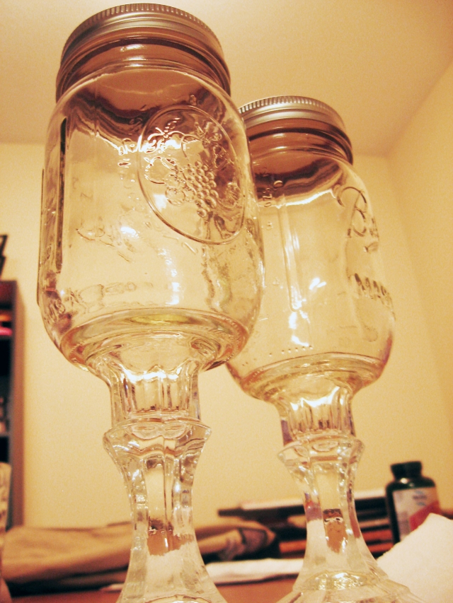 DIY Redneck Wine Glasses | Make Something Mondays