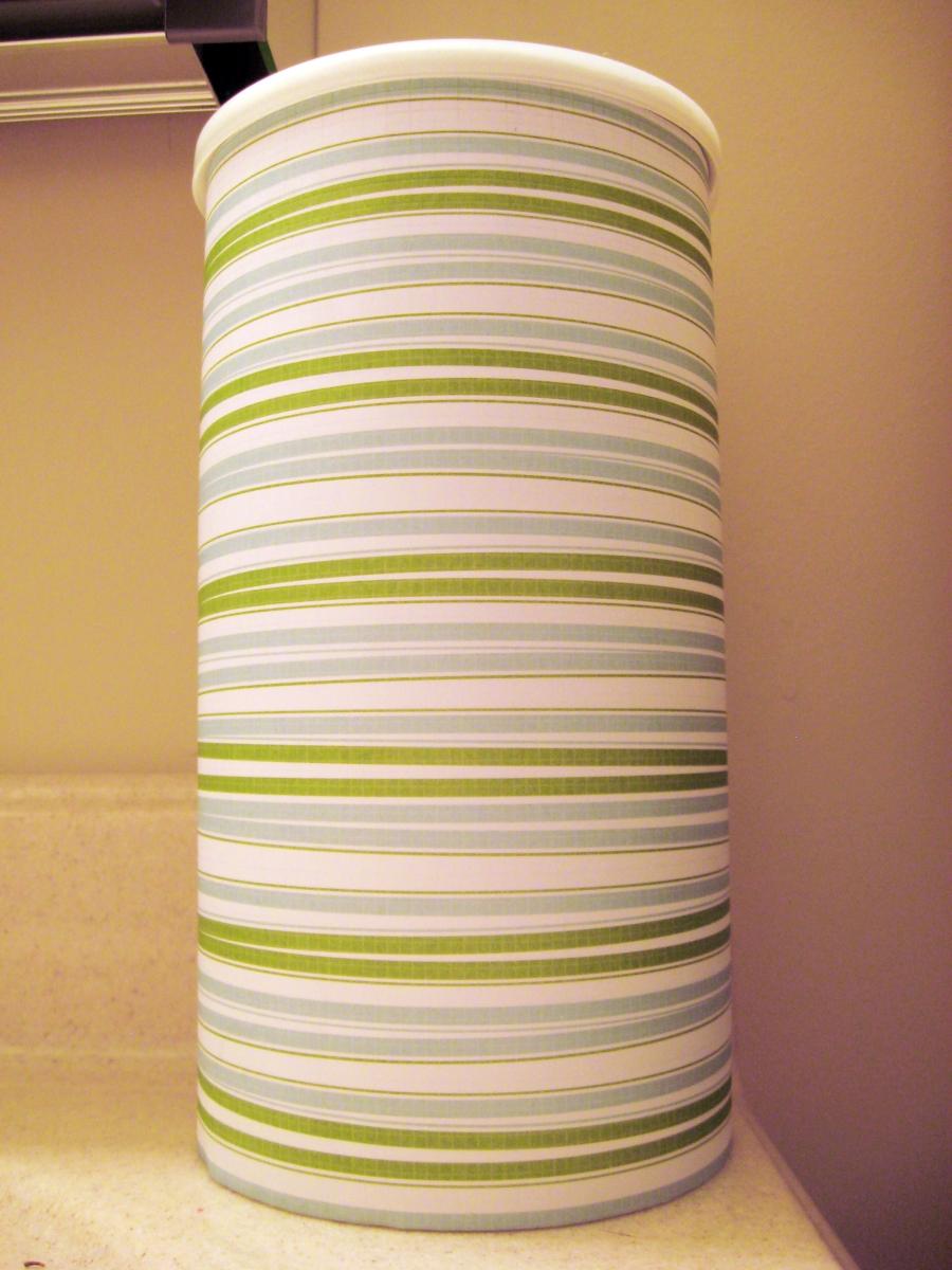 Diy toilet paper holder make something mondays for Diy toilet paper storage