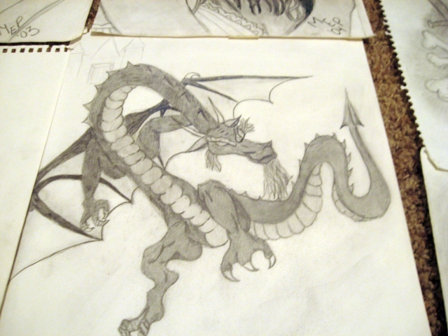 dragon-drawing