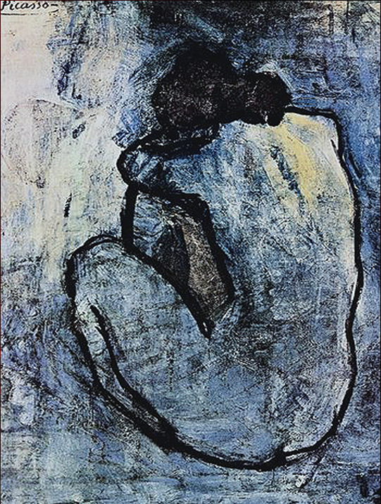 Pablo-Picasso-blue-nude