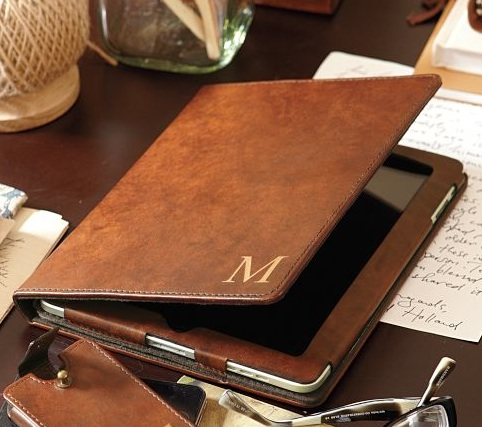 Saddle-leather-tablet-case