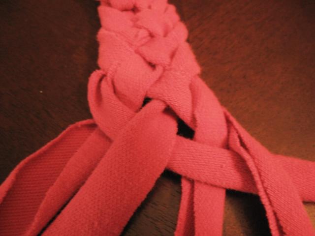 5 strand braided headband