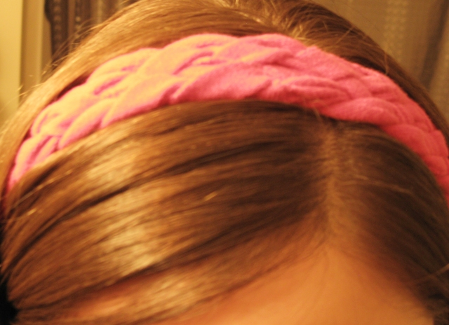 braided handband tutorial