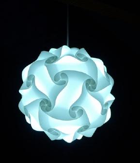 white infinity light