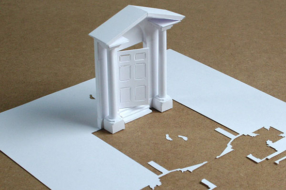 paper craft by Peter Callesen