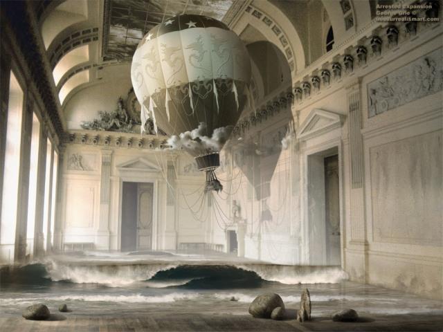 neosurrealist art by George Grie
