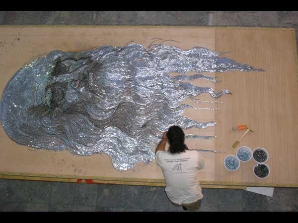Saimir Strati nail art