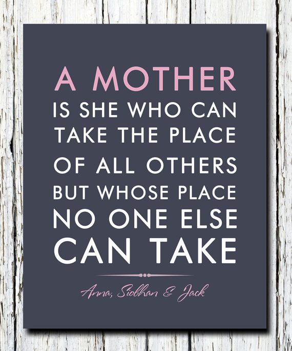 Personalized Mother's Day Quote  $18