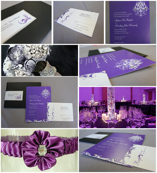 purple-wedding-set