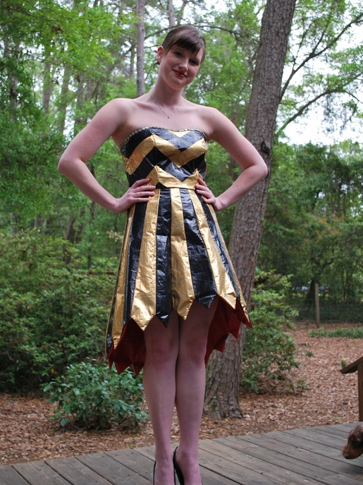 Duct Tape Prom Attire = $10,000 Scholarship! | Make Something Mondays!