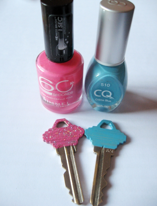 DIY Key colors