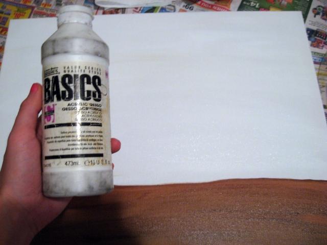 Gesso paint