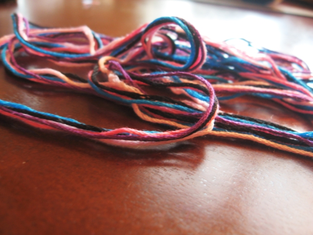 DIY Knotted Friendship Bracelet
