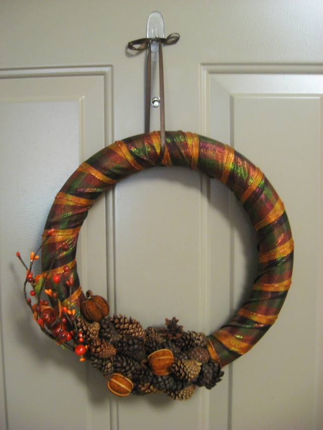 DIY Fall-Inspired Wreath