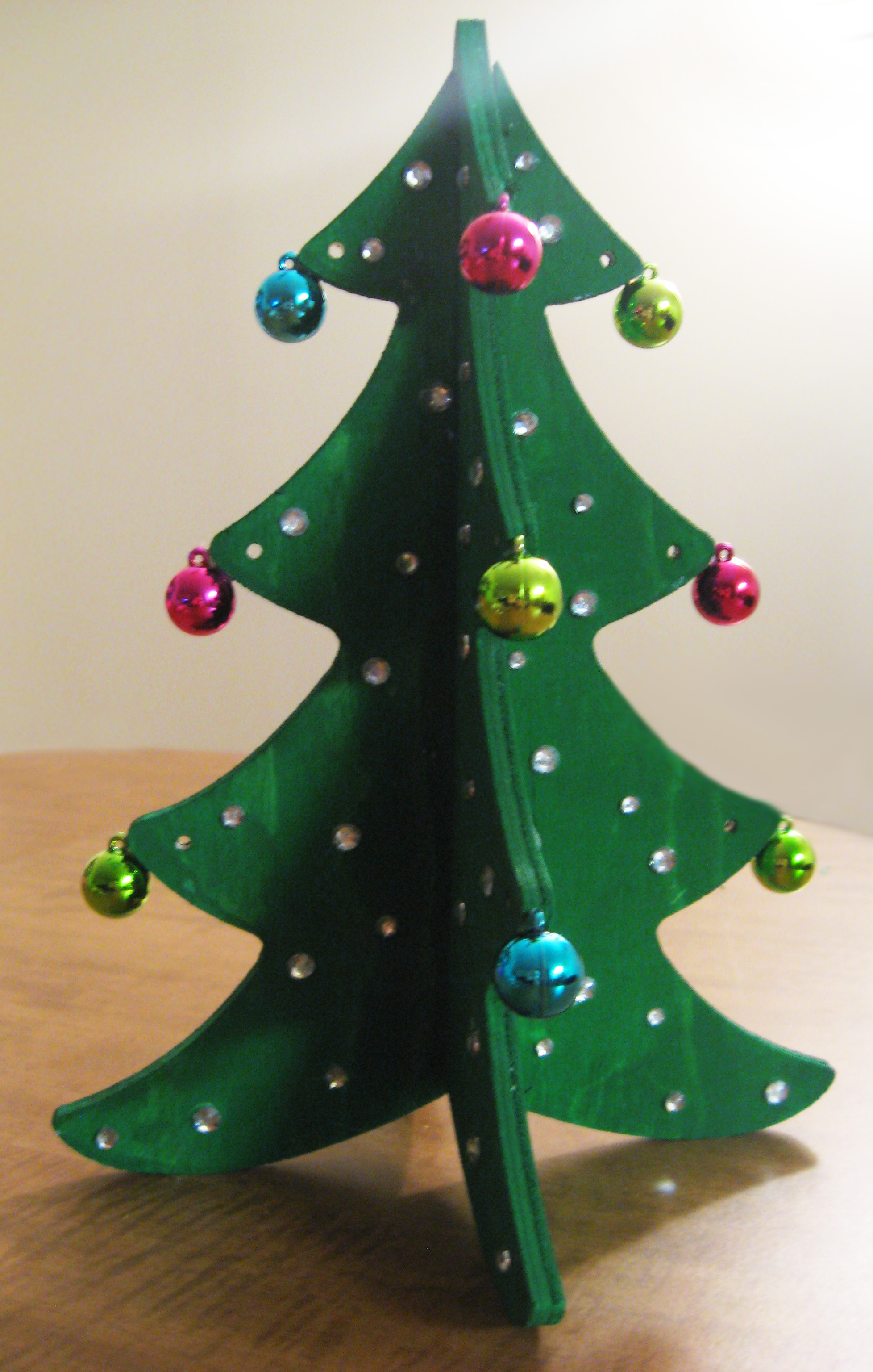 DIY Decorative Christmas Tree Make Something Mondays