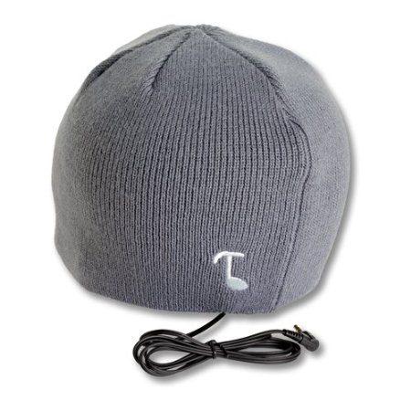 Audio Beanie With Built-in Removable Headphones