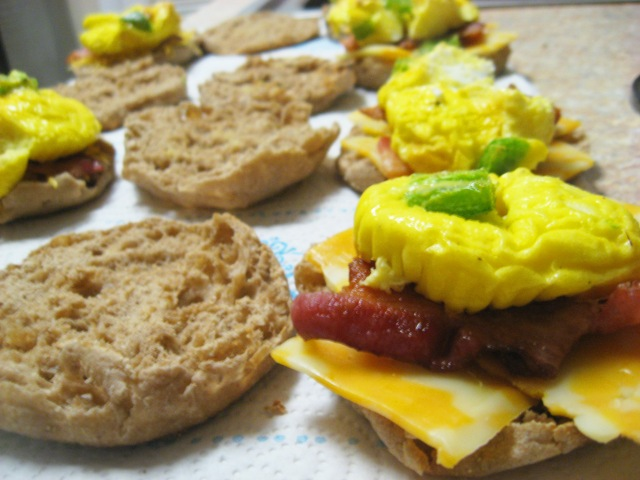 diy breakfast sandwiches
