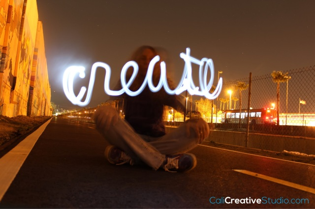 Create Light Painting #onething