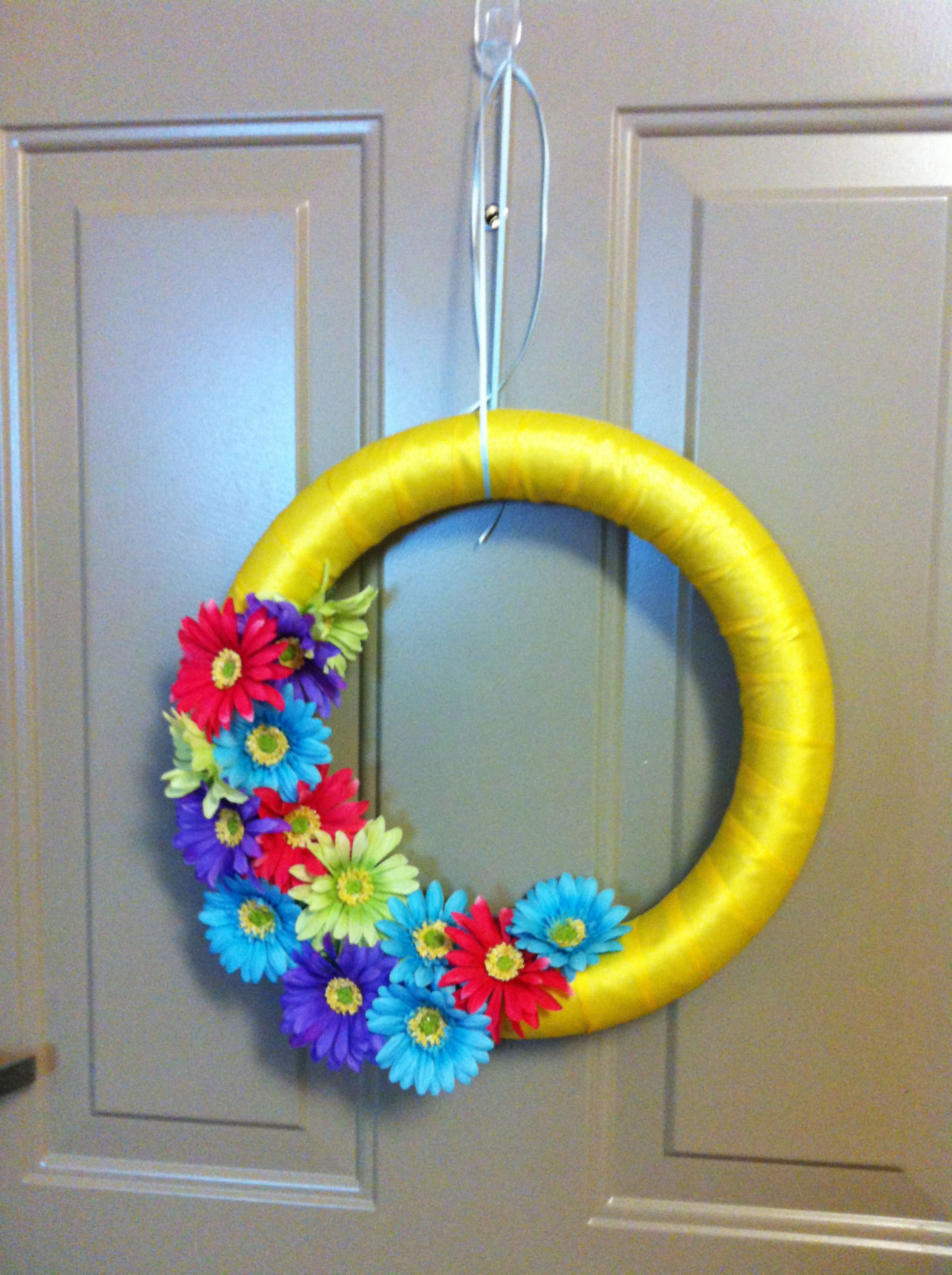 diy wreath make something mondays