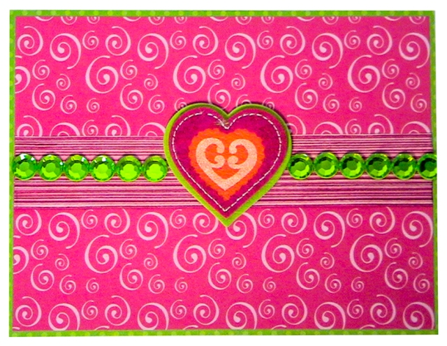 Sweet as candy greeting card