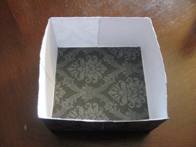 Decorative box bottom