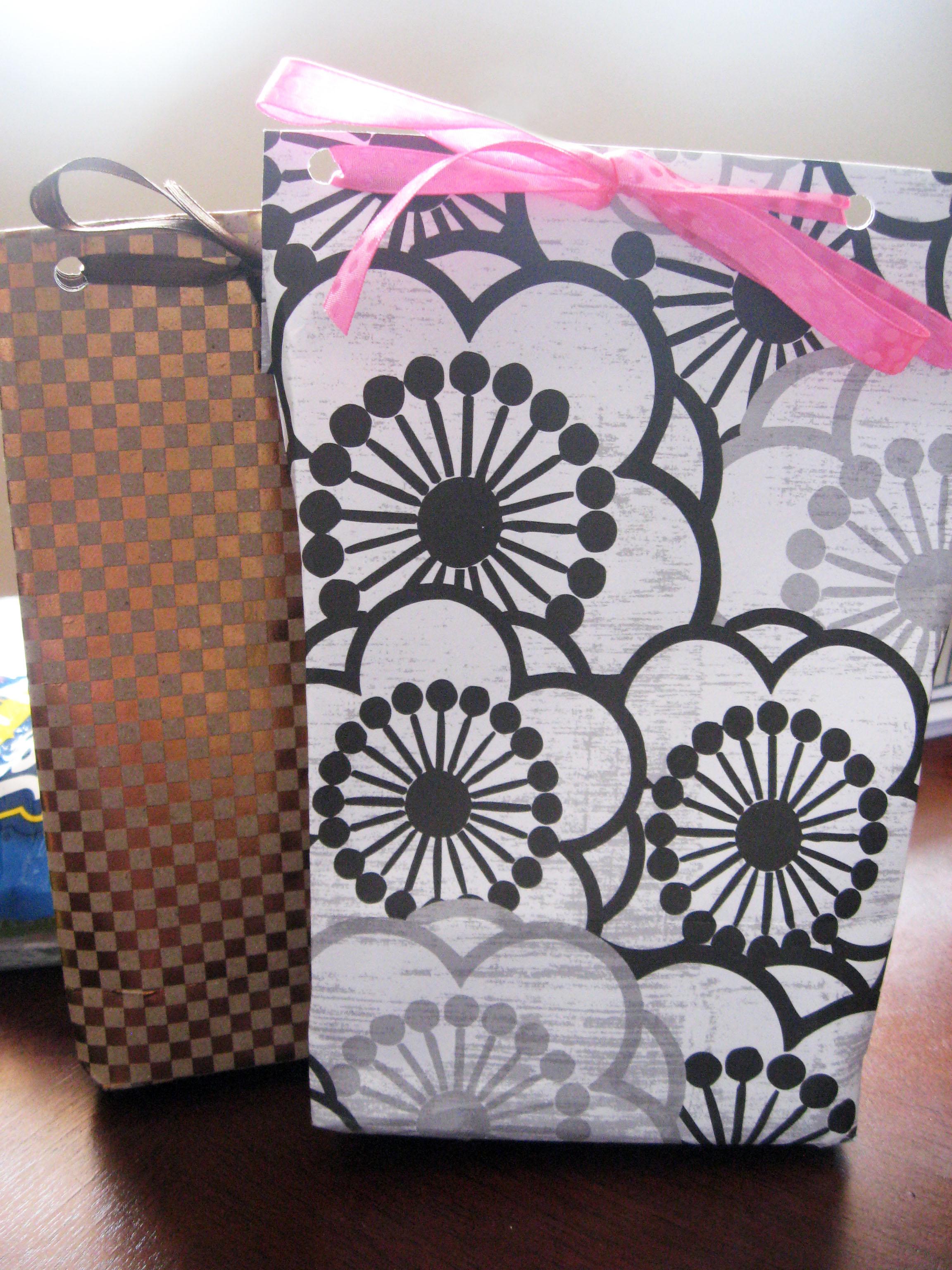Scrapbook paper diy - Diy Paper Gift Bags