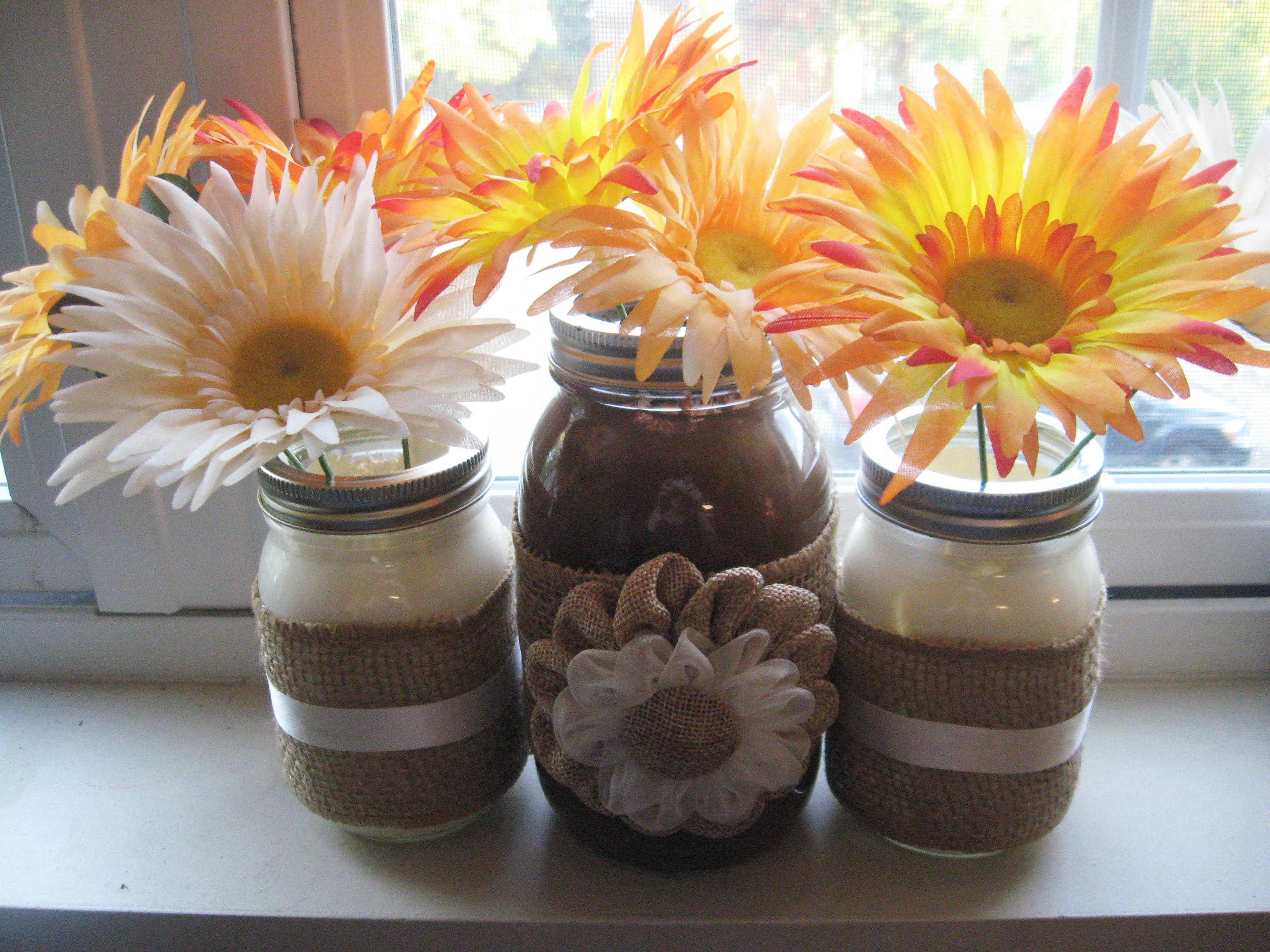 DIY Autumn-Inspired Mason Jar Vase Make Something Mondays!