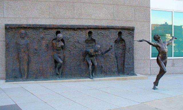 break through sculpture