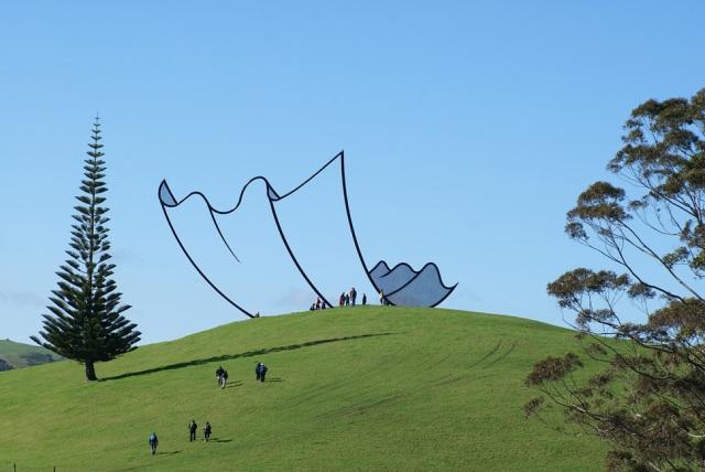 cartoon paper sculpture
