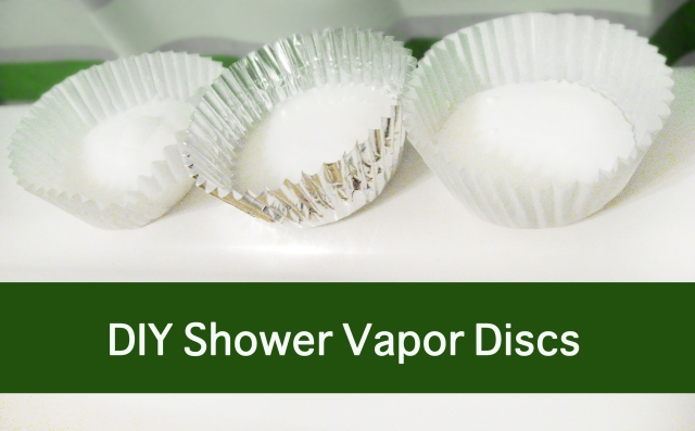 DIY Vapor Discs for the Shower