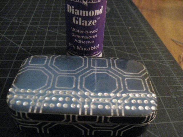 glazed top jewelry box