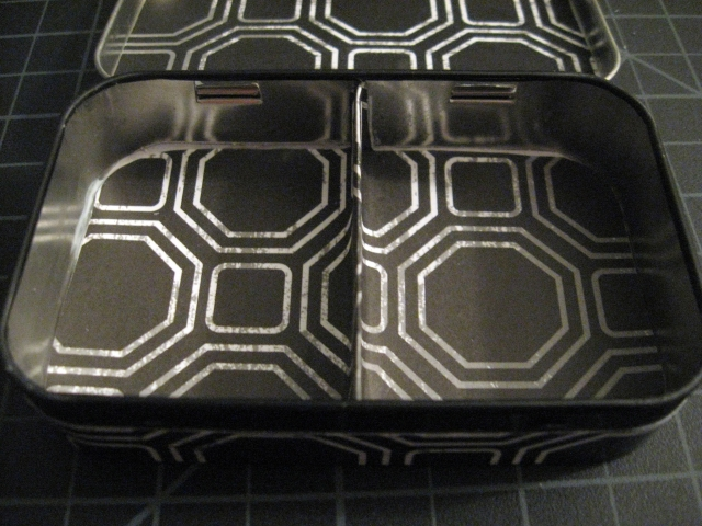 inside jewelry box tin