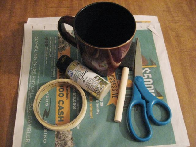 glitter mug materials