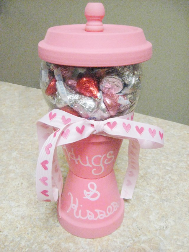 DIY Candy Jar for Valentine's Day