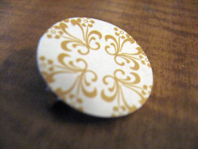 decorative paper pin