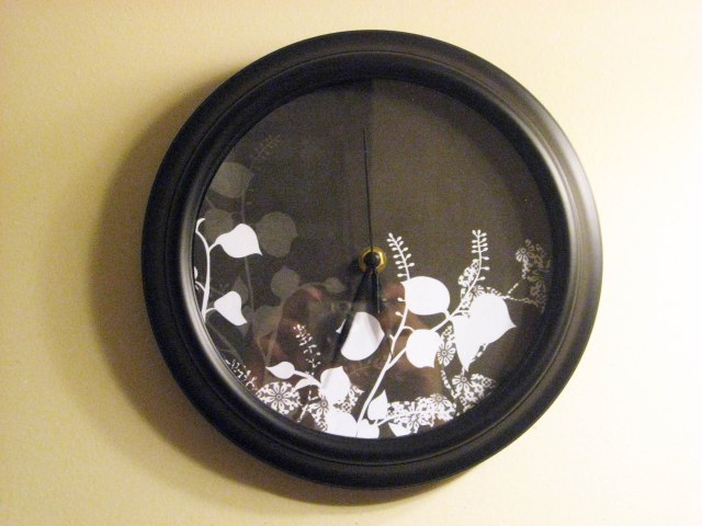 DIY Redecorated Clock