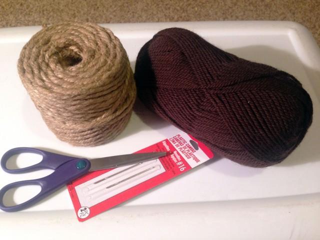 yarn basket materials