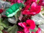Yarn caterpillar craft