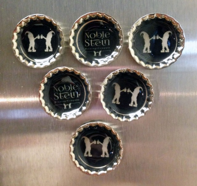 DIY Bottle Cap Magnets