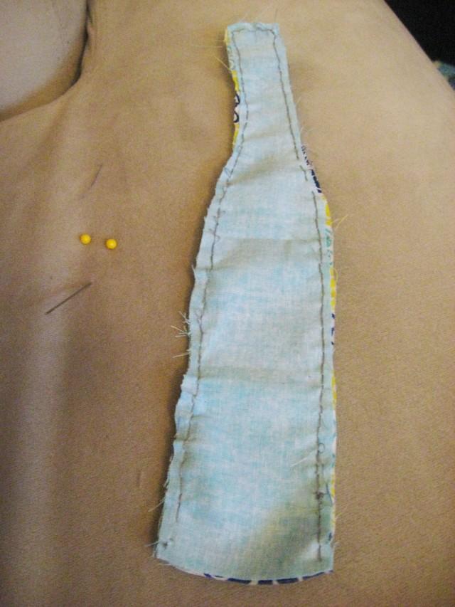 sewed edges