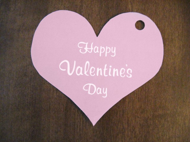 valentine's day printable heart