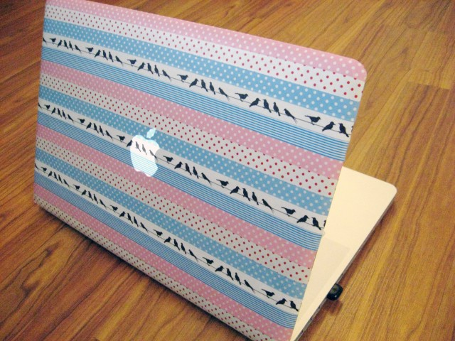 DIY laptop skin