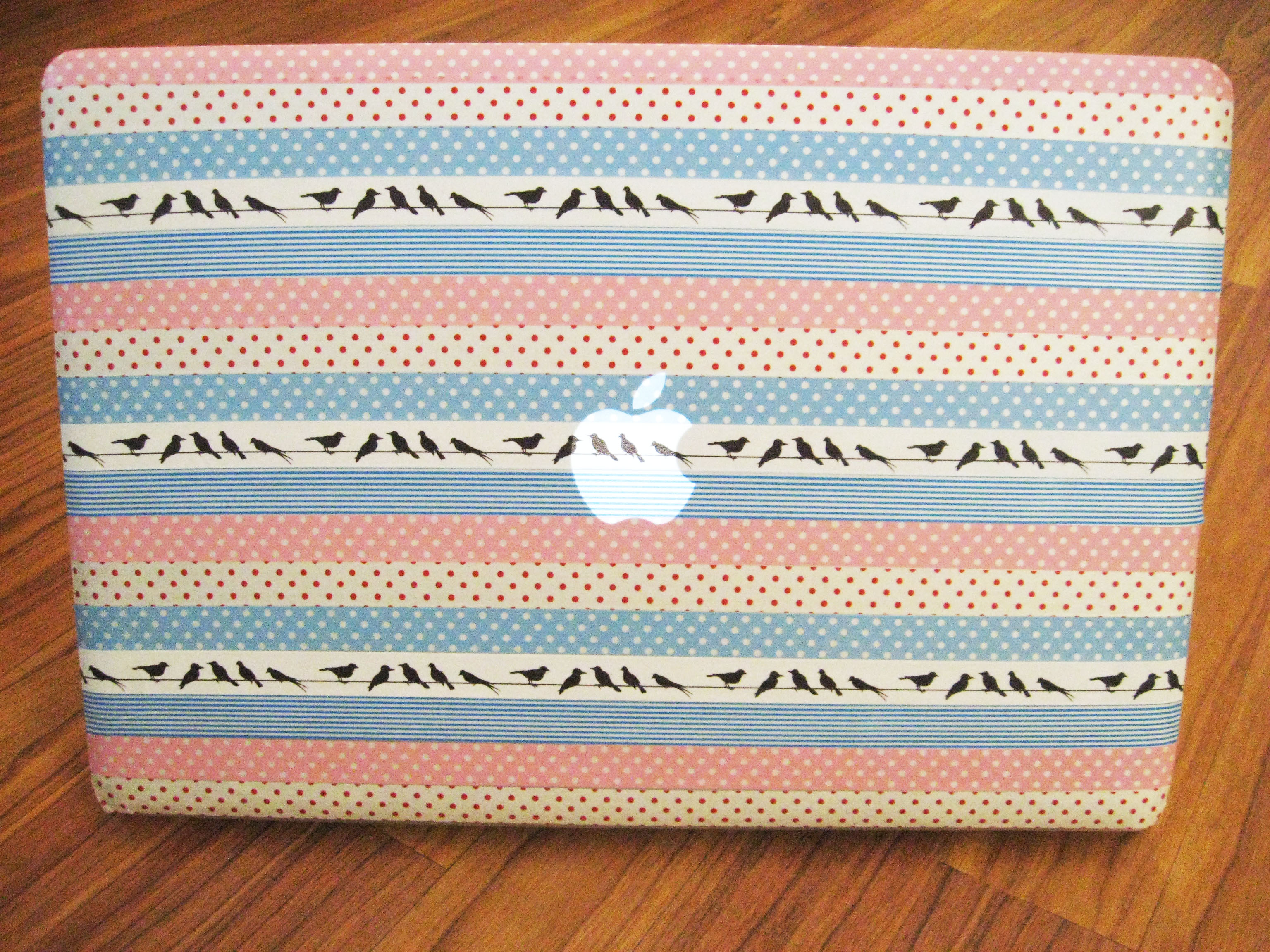 Diy washi tape laptop skin make something mondays for What can you do with washi tape
