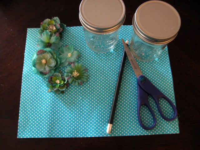 DIY bathroom storage jar materials