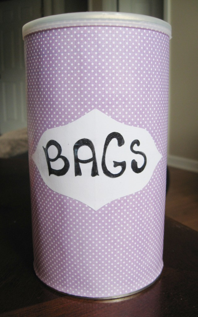 DIY Upcycled Grocery Bag Storage Container Make Something Mondays